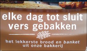 Elke dag vers brood 'tot sluit' bij Albert Heijn